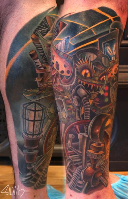 Tattoos - Custom Gremlin Tattoo - 107951