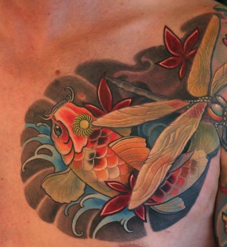 Tattoos - Koi Fish Tattoo - 101526