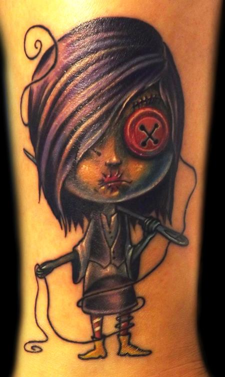 Tattoos - Zombie Girl Tattoo - 67691