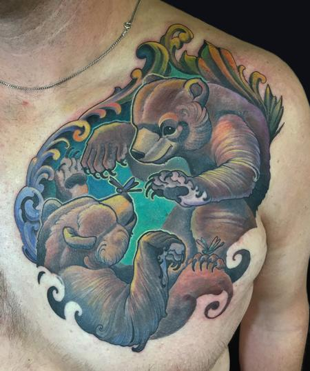 Tattoos - 2 bears  - 115360