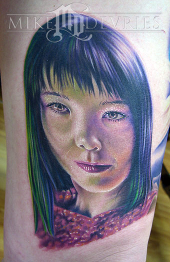 Tattoos - Bjork - 18663