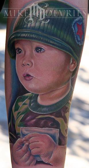 Tattoos - Son Portrait - 18294