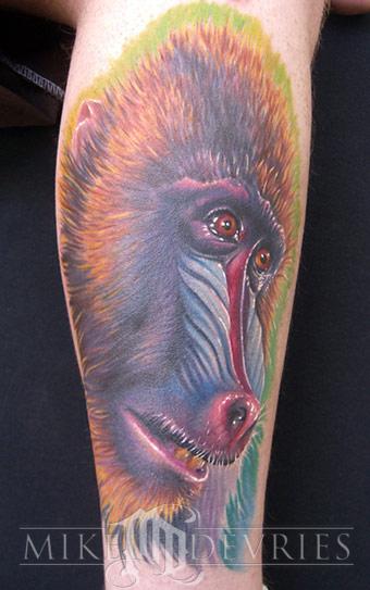 Tattoos - Baboon - 19834