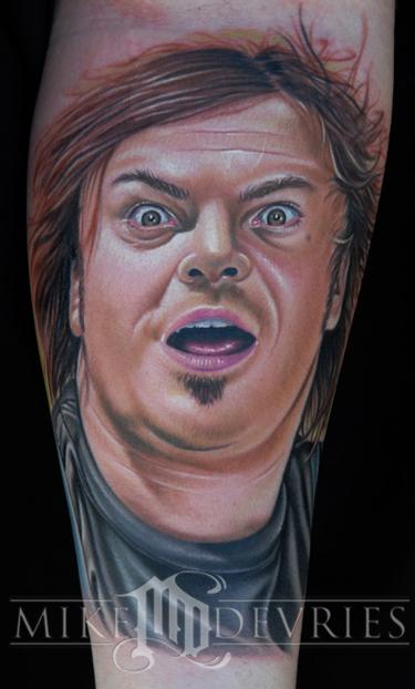 Tattoos - Jack Black Tattoo - 22902