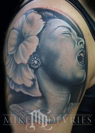 Tattoos - Billie Holiday - 18021