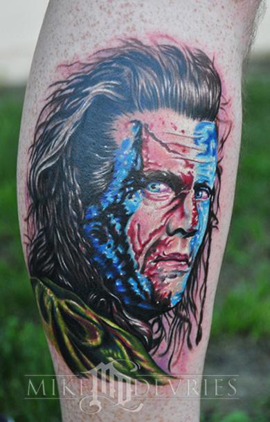 Tattoos - Braveheart Tattoo - 32544