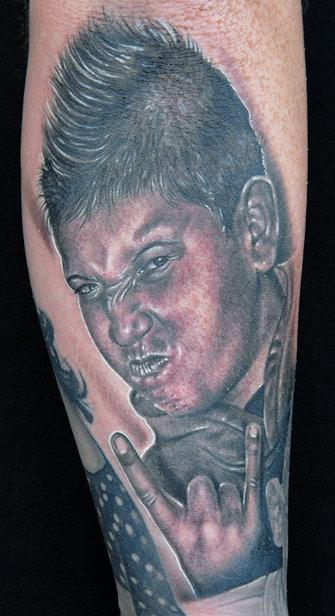 Tattoos - Son Portrait - 20667