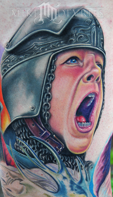 Mike DeVries - Chronicles Tattoo