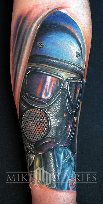 Tattoos - Drag Racer Tattoo - 21624