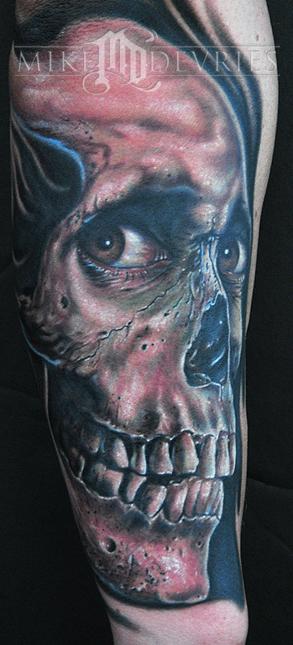 Mike DeVries - Evil Dead Tattoo