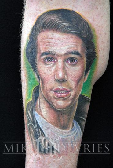 Tattoos - Fonzie Tattoo - 21276