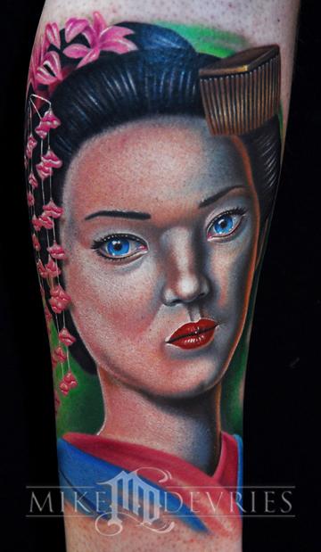 Tattoos - Geisha - 25155