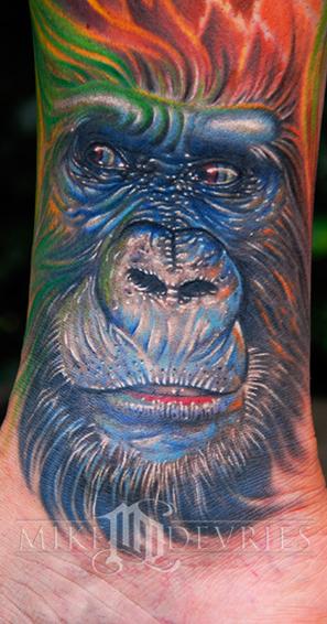 Tattoos - Gorilla Tattoo - 26276