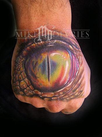 Tattoos - Eyeball Tattoo - 19951
