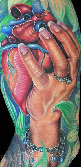Mike DeVries - Heart Tattoo