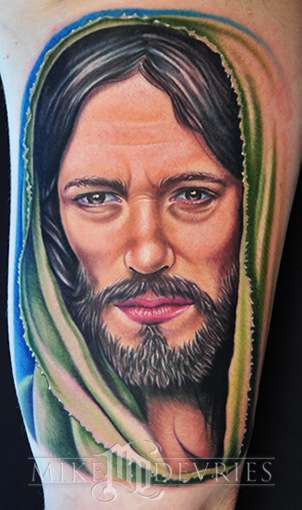 Tattoos - Jesus Tattoo - 28448