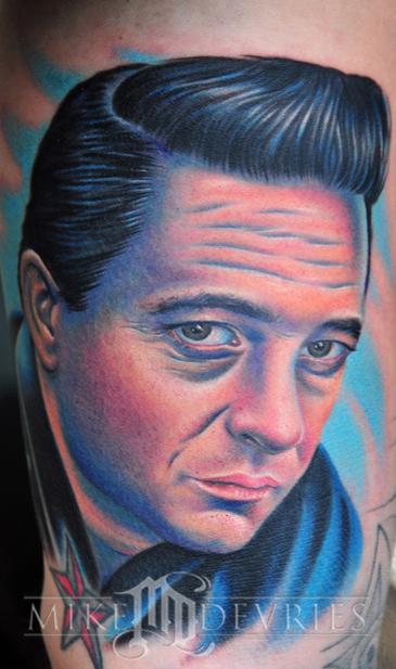Mike DeVries - Johnny Cash Tattoo