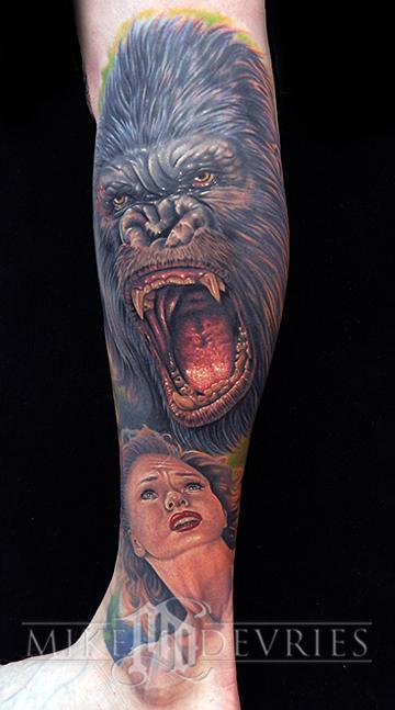 Tattoos - King Kong Tattoo - 24668
