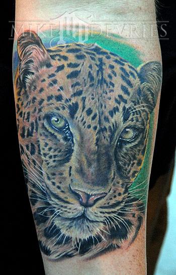 Tattoos - Leopard Tattoo - 21277