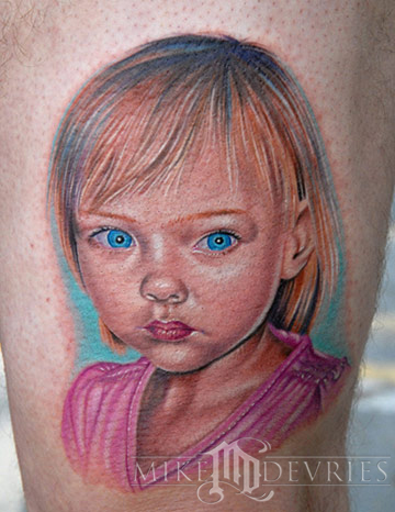 Mike DeVries - Little Girl Tattoo