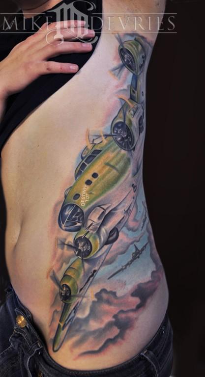 Mike DeVries - B-17 Bomber