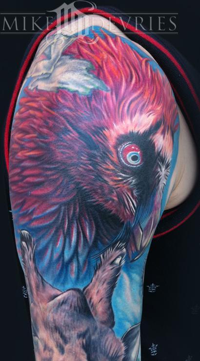Mike DeVries - Vulture Tattoo