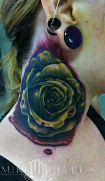 Mike DeVries - Blood Rose Tattoo