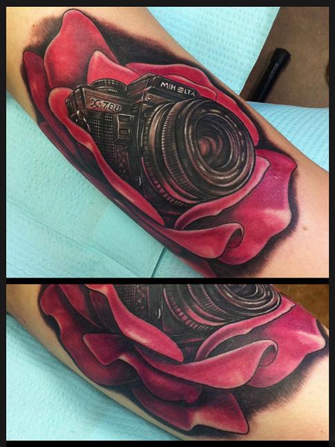 Mike DeVries - Camera Rose Tattoo