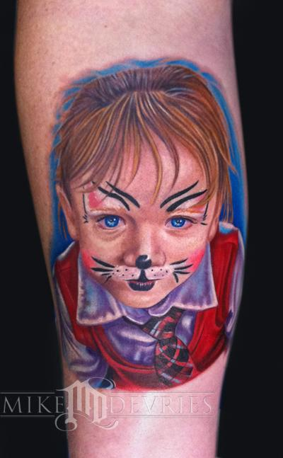 Tattoos - Child Portrait Tattoo - 53910