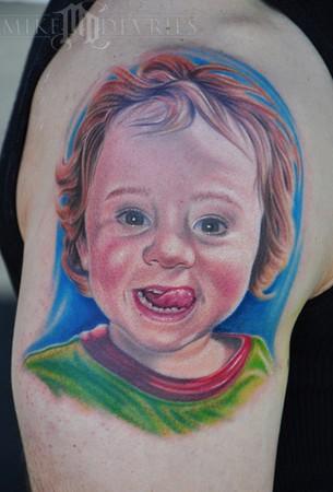 Mike DeVries - Son Portrait