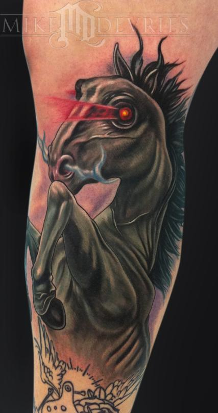 Tattoos - Dark Horse Tattoo - 60795