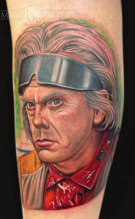 Mike DeVries - Doc Brown Tattoo