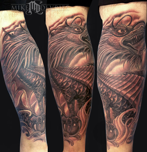 Tattoos - Dragon Tattoo - 70321