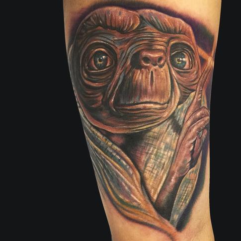 Mike DeVries - E.T. Tattoo
