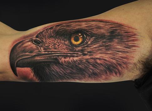 Mike DeVries - Eagle Tattoo