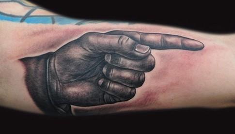 Mike DeVries - Finger Tat