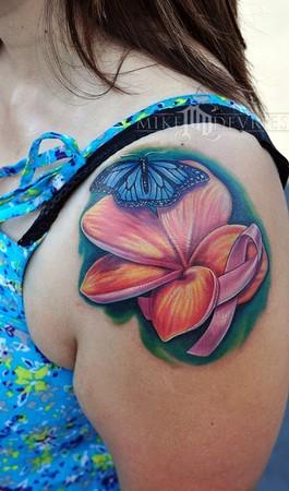 Mike DeVries - Flower Tattoo