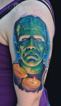Tattoos - Frankenstein Tattoo - 45035