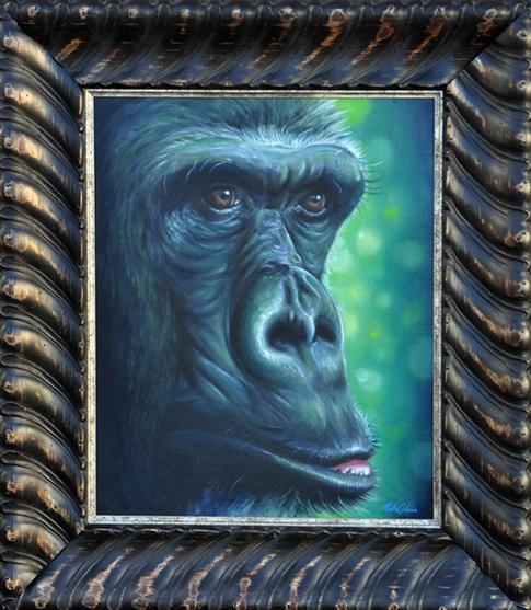 Mike DeVries - Ape Painting