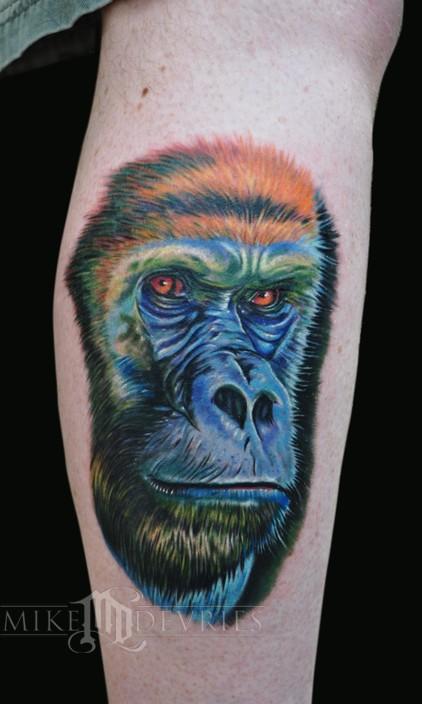 Mike DeVries - Gorilla Tattoo