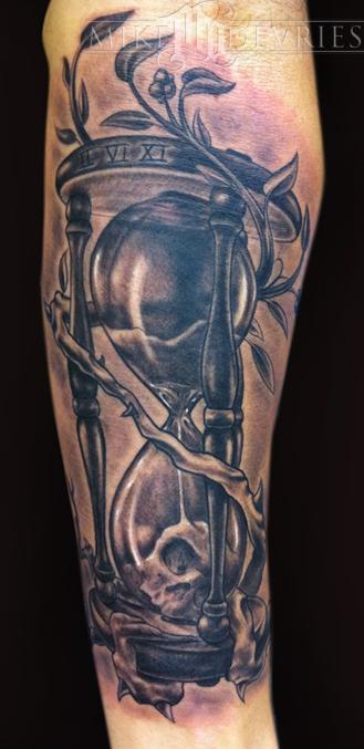Tattoos - HourGlass Tattoo - 53529