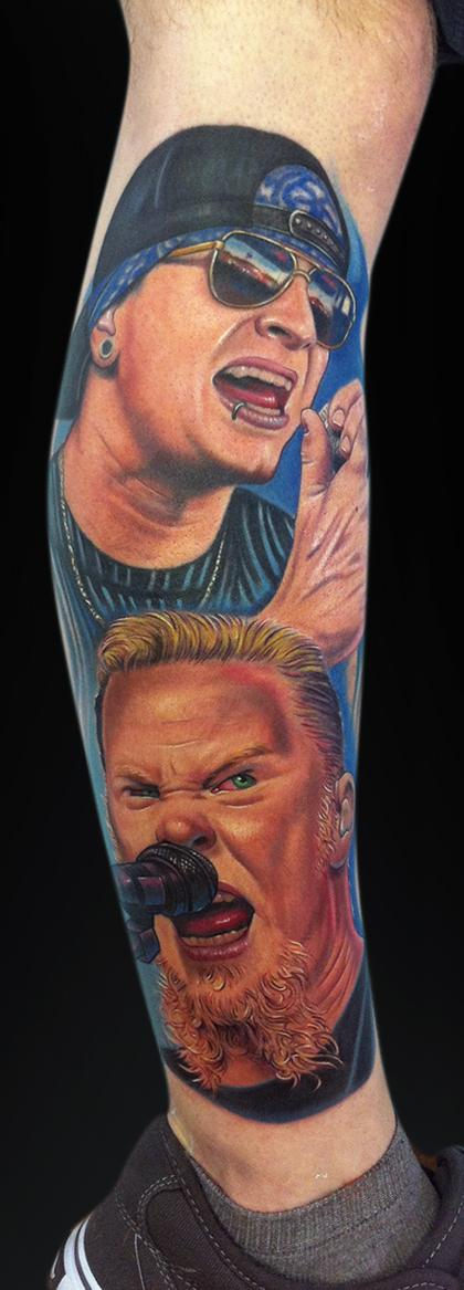 Tattoos - James Hetfield & M.Shadows - 65143