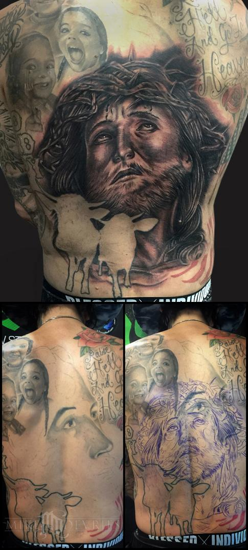Mike DeVries - Jesus Tattoo