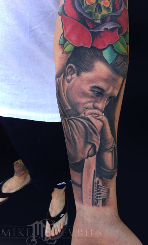 Tattoos - Johnny Cash Tattoo - 76068