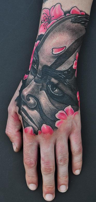 Tattoos - Kabuki Tattoo  - 64401