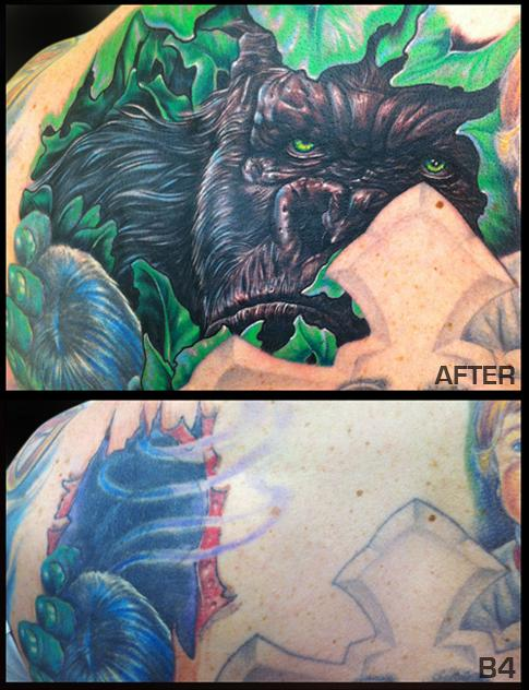 Mike DeVries - King Kong Tattoo