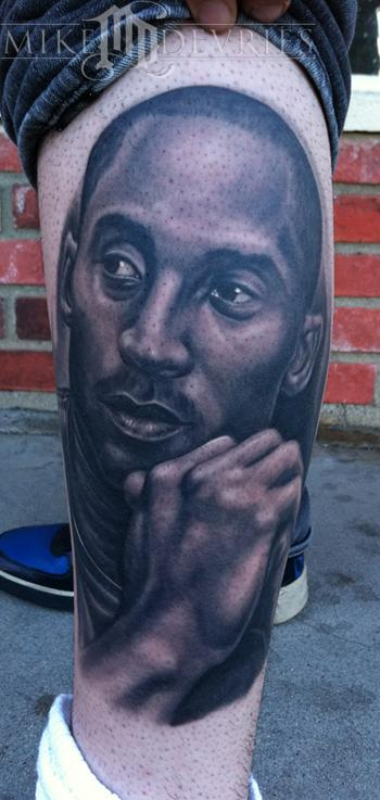 Mike DeVries - Kobe Bryant Tattoo