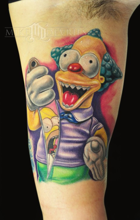 Mike DeVries - Krusty the Clown
