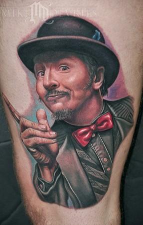 Mike DeVries - Les Claypool Tattoo