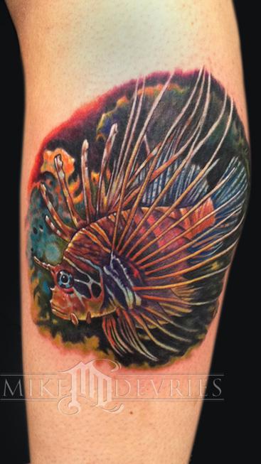 Tattoos - Lionfish Tattoo - 53911